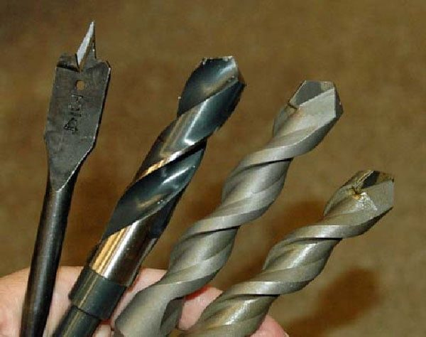 Difference between Wood & Metal Drill Bits