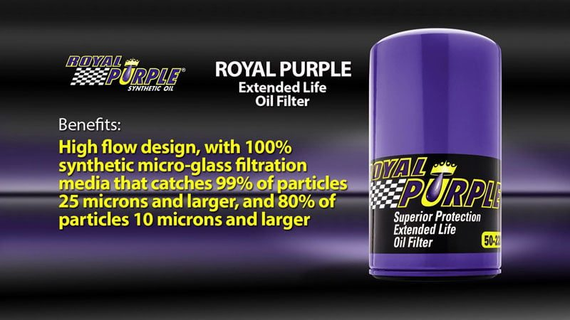 Royal Purple Oil Filters Review