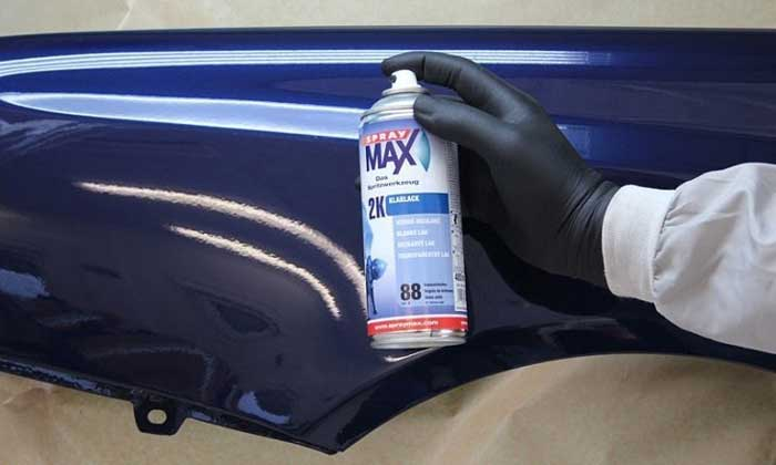 Automotive Clear Coat Spray Cans