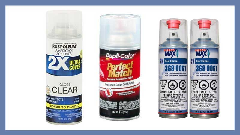 Best Automotive Clear Coat Spray Cans