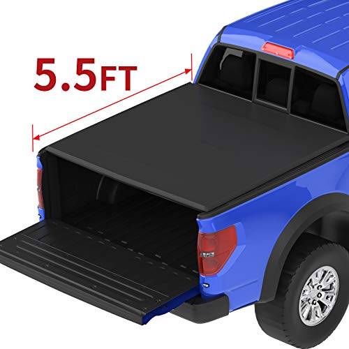 oEdRo Roll Up Truck Bed Tonneau Cover Compatible