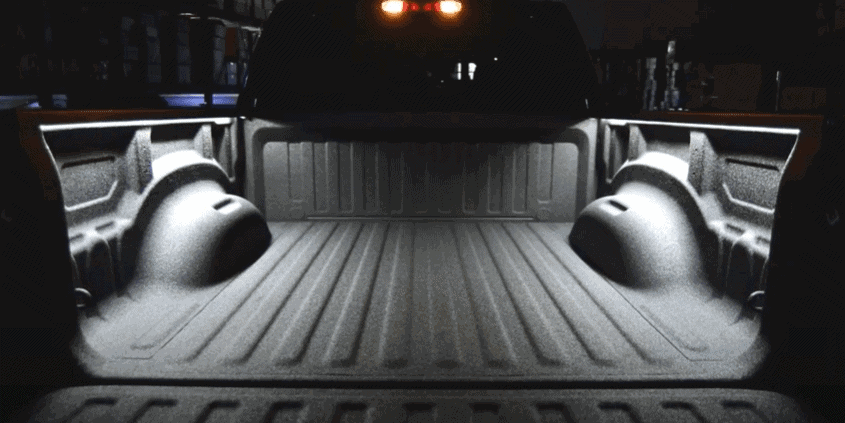 How to install lights in a truck bed