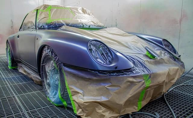 Time to dry Car Paint